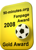 90-minutes.org - Gold Fanpage Award 2008