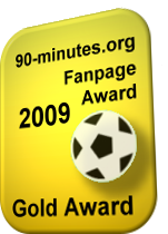 90-minutes.org - Gold Fanpage Award 2009