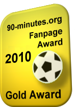 90-minutes.org - Gold Fanpage Award 2010