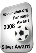 90-minutes.org - Silver Fanpage Award 2008