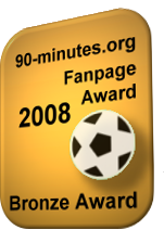90-minutes.org - Bronze Fanpage Award 2008