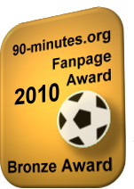 90-minutes.org - Bronze Fanpage Award 2010
