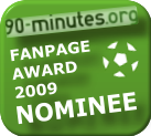 90-minutes.org - Fanpage Award 2009 - nominee